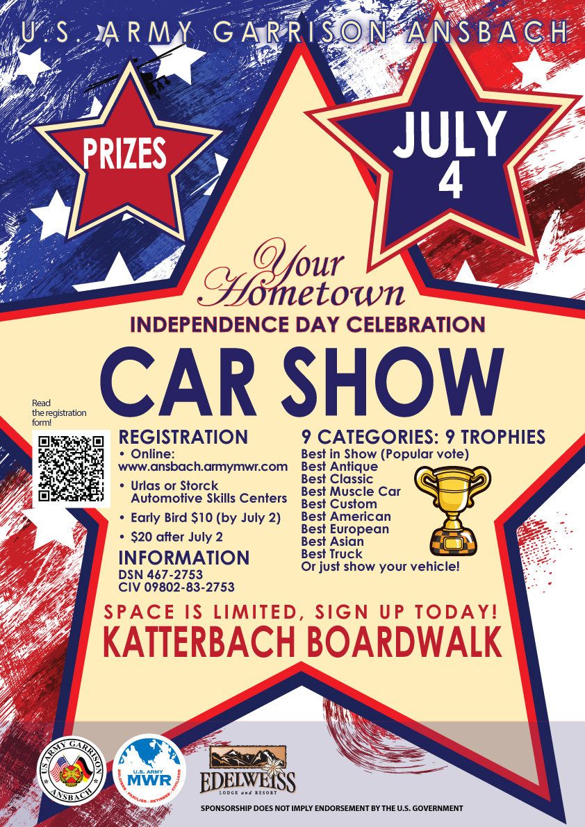 Fourth of july car show ansbach hometown herald fourth of july car show thecheapjerseys Image collections