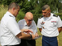 WWII veteran receives recognition from nation, USAG Ansbach