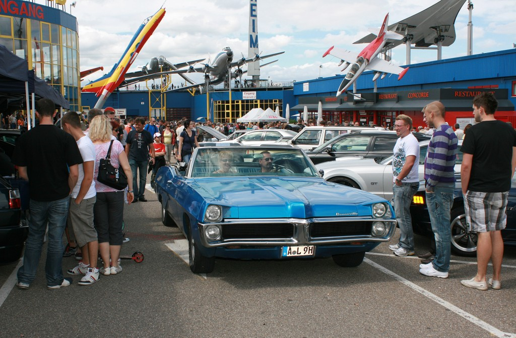 U.S. cars meet in Sinsheim