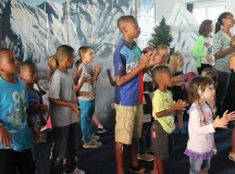 """The """"coolest week of the summer"""" gave children a fun and safe place to learn about God's power to provide, heal, comfort, forgive and love us forever. (Courtesy photo)"""