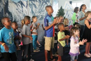 "The ""coolest week of the summer"" gave children a fun and safe place to learn about God's power to provide, heal, comfort, forgive and love us forever. (Courtesy photo)"