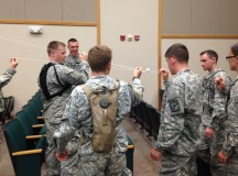 Cadets build performance skills, preparing them for initial entry training, life as officers