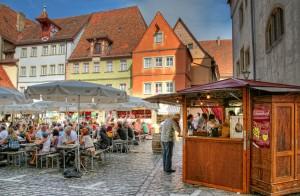 Weindorf in Rothenburg