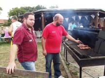 Outreach-KONTAKT Franken farewells summer with barbecue