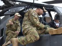 German reserves visit Katterbach airfield and Urlas