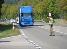 Serious injuries and death compel roadside checks by local German Polizei