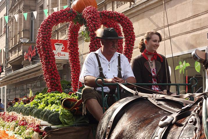 Fuerther Kirchweih Harvest Parade