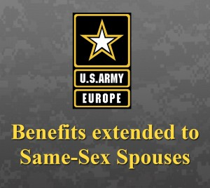same-sex Army Europe