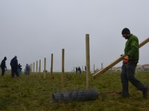 Community members volunteer their Saturday to USAG Ansbach projects
