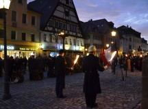 Germans, Americans remember victims of war and violence together in Ansbach