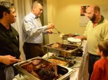 Gobbledy-good!: Outreach-KONTAKT Franken serves up turkey, sides for holiday