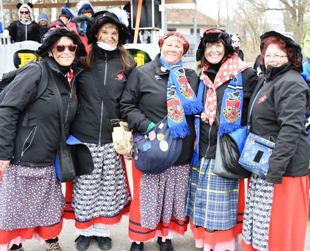 The long Fasching weekend starts on Thursday with Altweiberfasnacht. (Photo courtesy of Schwabanesen)