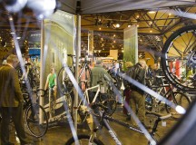 A bicycle fair in Fürth gets sports enthusiasts ready for spring.