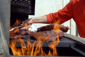 Remember safety before firing up the grill.