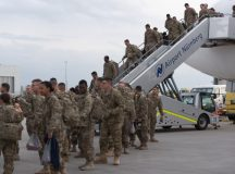 Fort Bliss Iron Eagles arrive in Germany