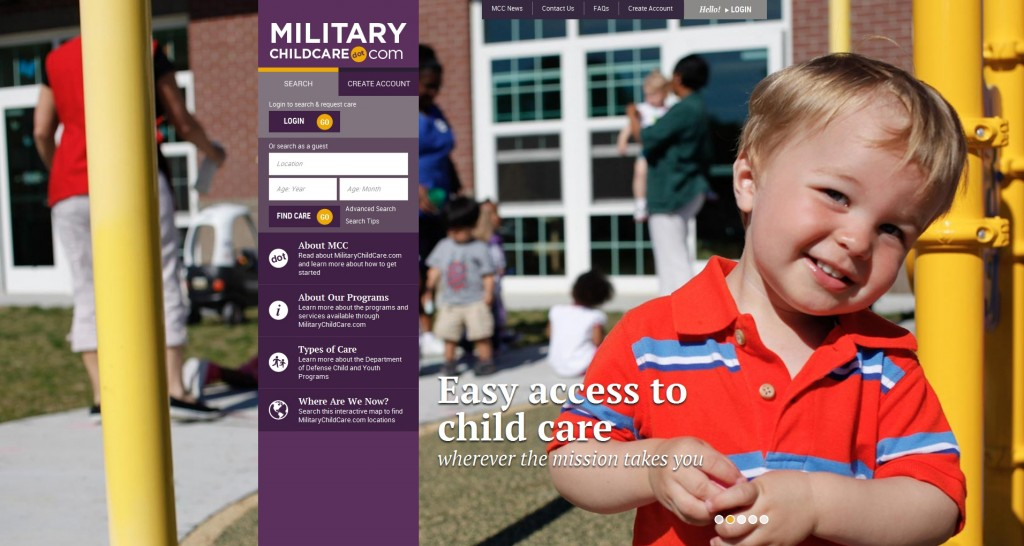 Ansbach to transition to simplified DoD request for child care website in September