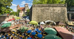 The city of Nürnberg has events going on throughout the whole year. (Photo courtesy of nuernberg.de)