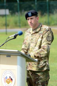 Col. Benjamin C. Jones, incoming USAG Ansbach commander