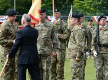 Ansbach garrison holds change of command, farewells Col. Benson, welcomes Col. Jones
