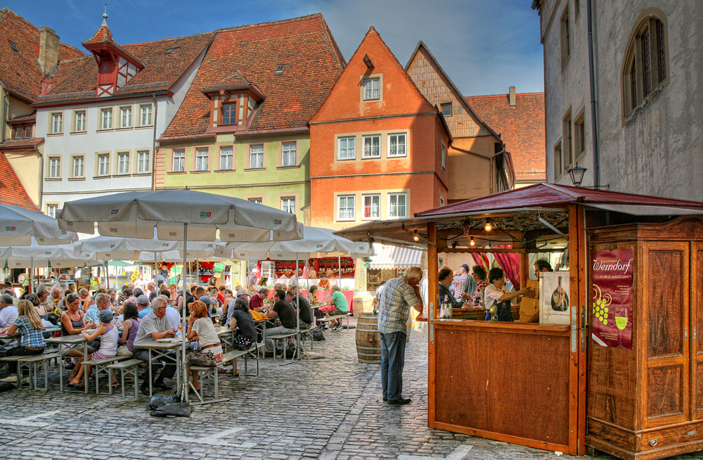 Weindorf Rothenburg (Photo: Rothenburg Tourism Office)