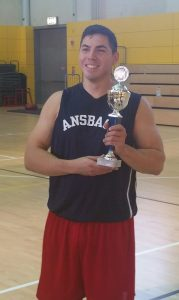 Sgt. Paul Islas of the Renegades won MVP during the tournament.