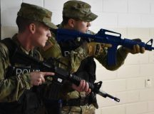 MP Soldiers train at Rainbow Elementary for variety of situations