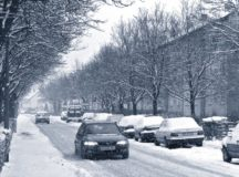 Driving in the snow safely