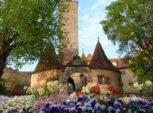 Rothenburg in spring (Photo: Rothenburg Tourismus, A. Boettger)