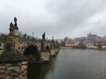 Traveling throughout Europe to cities such as Prague (in photo) is one of the chief benefits of living and working at U.S. Army Garrison Ansbach or any garrison in Europe. Nevertheless, ensure you stay apprised of current events and the threat environment. (Courtesy photo)