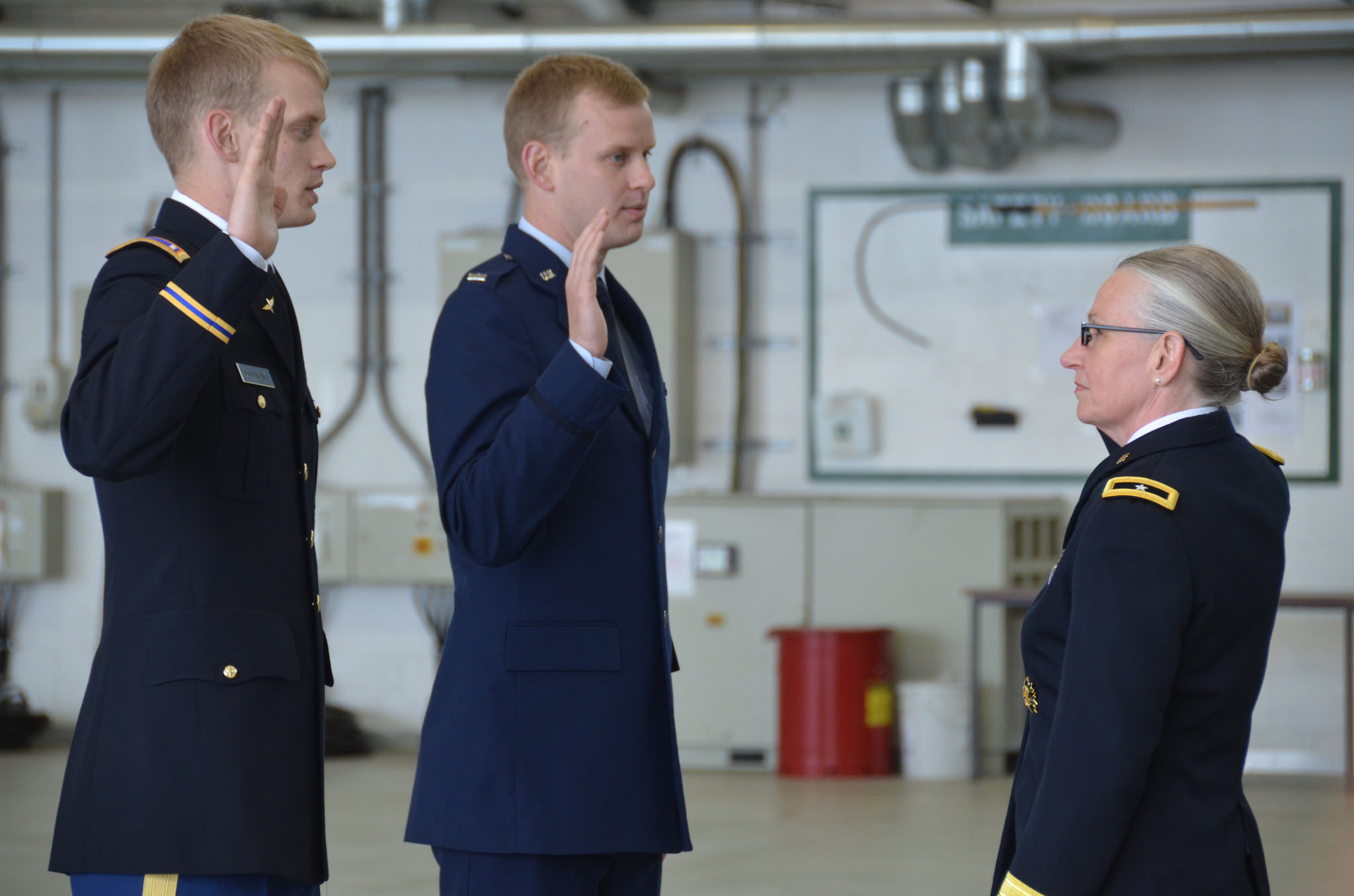 Promotion ceremony brings family, Regular Army, Army Reserve, Air Force together