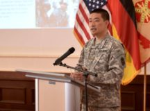 Army major recalls father's lessons during Asian-American Pacific Islander Heritage Month observance