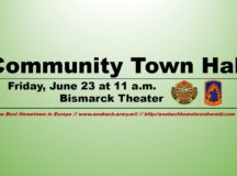 USAG Ansbach to host community town hall June 23
