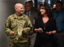 IMCOM commander tours USAG Ansbach, recognizes hard work of Soldiers, Civilian professionals