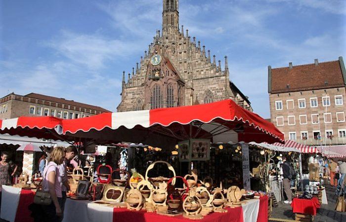 Fall market in Nürnberg (Photo: Tourismus Nürnberg)