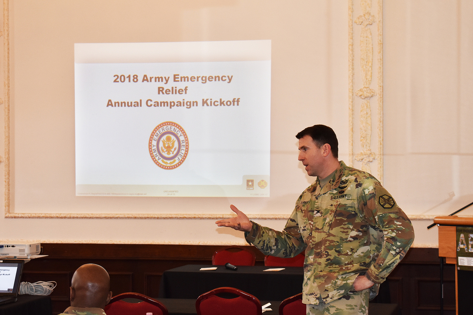 USAG Ansbach Kicks-off AER Campaign: 76 years of Soldiers helping Soldiers in times of financial need