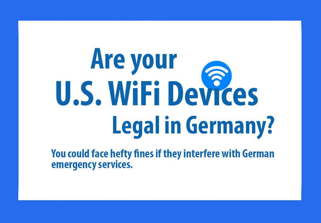 Many U.S. wireless devices not allowed in Germany