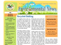 Environmental Newsletter – April 2018