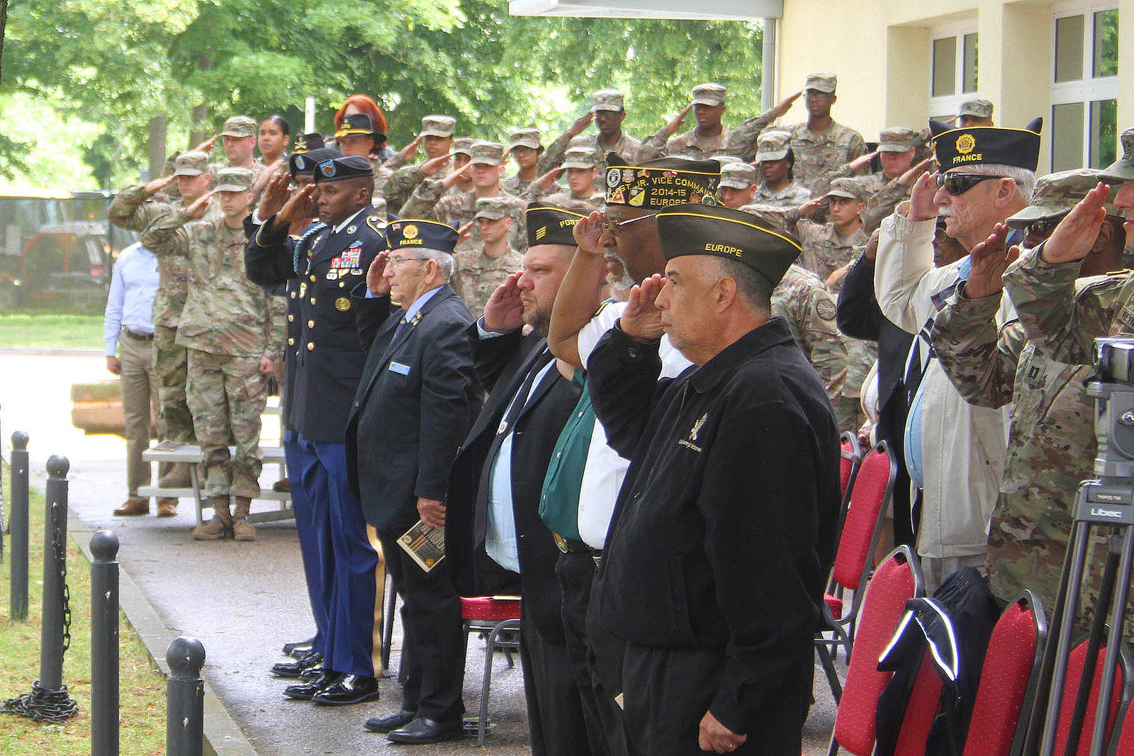 Ansbach-Illesheim Memorial Day Ceremony 2018
