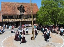 Fest time in Bad Windsheim's historic outdoor museum (Photo: Fränkisches Freilandmuseum)