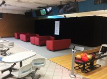Changing lanes at the Katterbach Bowling Center