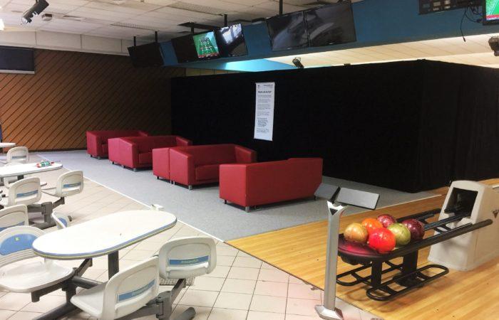 Changing lanes at the Katterbach Bowling Center