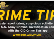 Army CID announces new crime tips system
