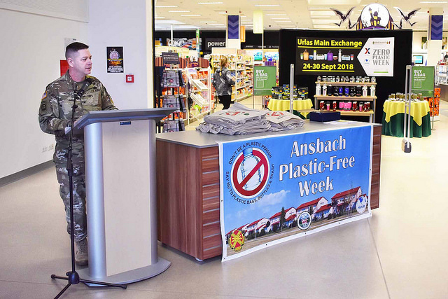 USAG Ansbach Plastic-Free Week 2018