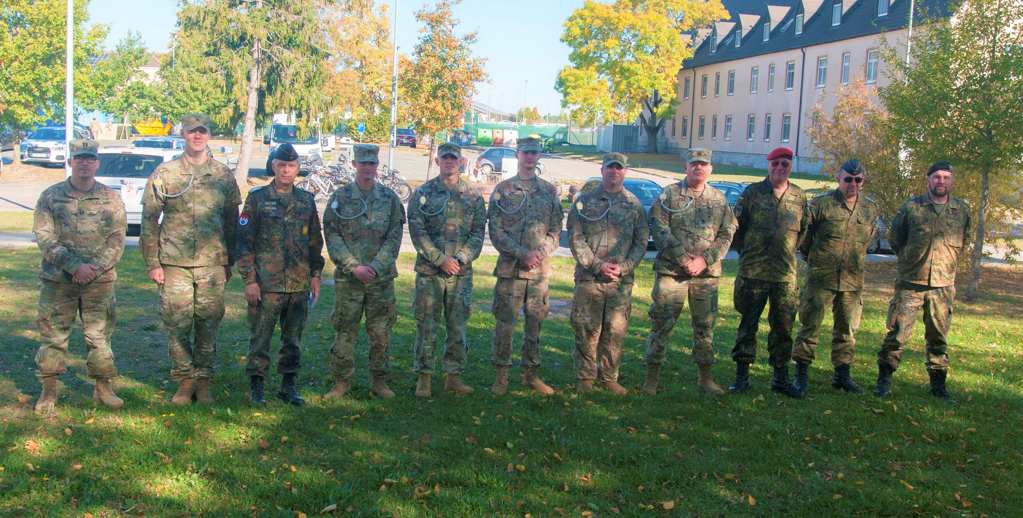 678th ADA Soldiers compete for German Schützenschnur with Bundeswehr soldiers