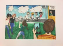 CYS programs participate in national art contest