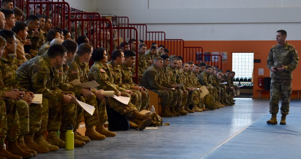 Ansbach garrison commander welcomes 1st CAB Soldiers