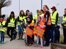 Garrison community supports Ansbach city spring clean-up