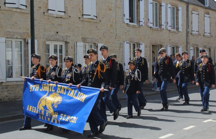 Ansbach JROTC commemorates 75th anniversary of D-Day in Normandy