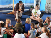 Ansbach children turn out in force for vacation bible school