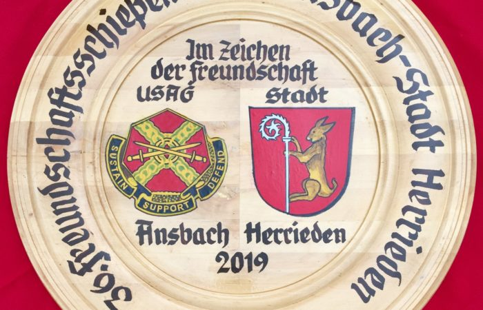 USAG Ansbach, Herrieden continue to strengthen ties through friendly competition